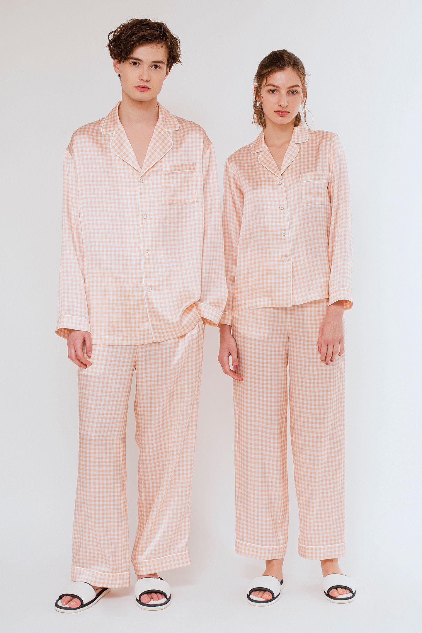 パジャマ シルク