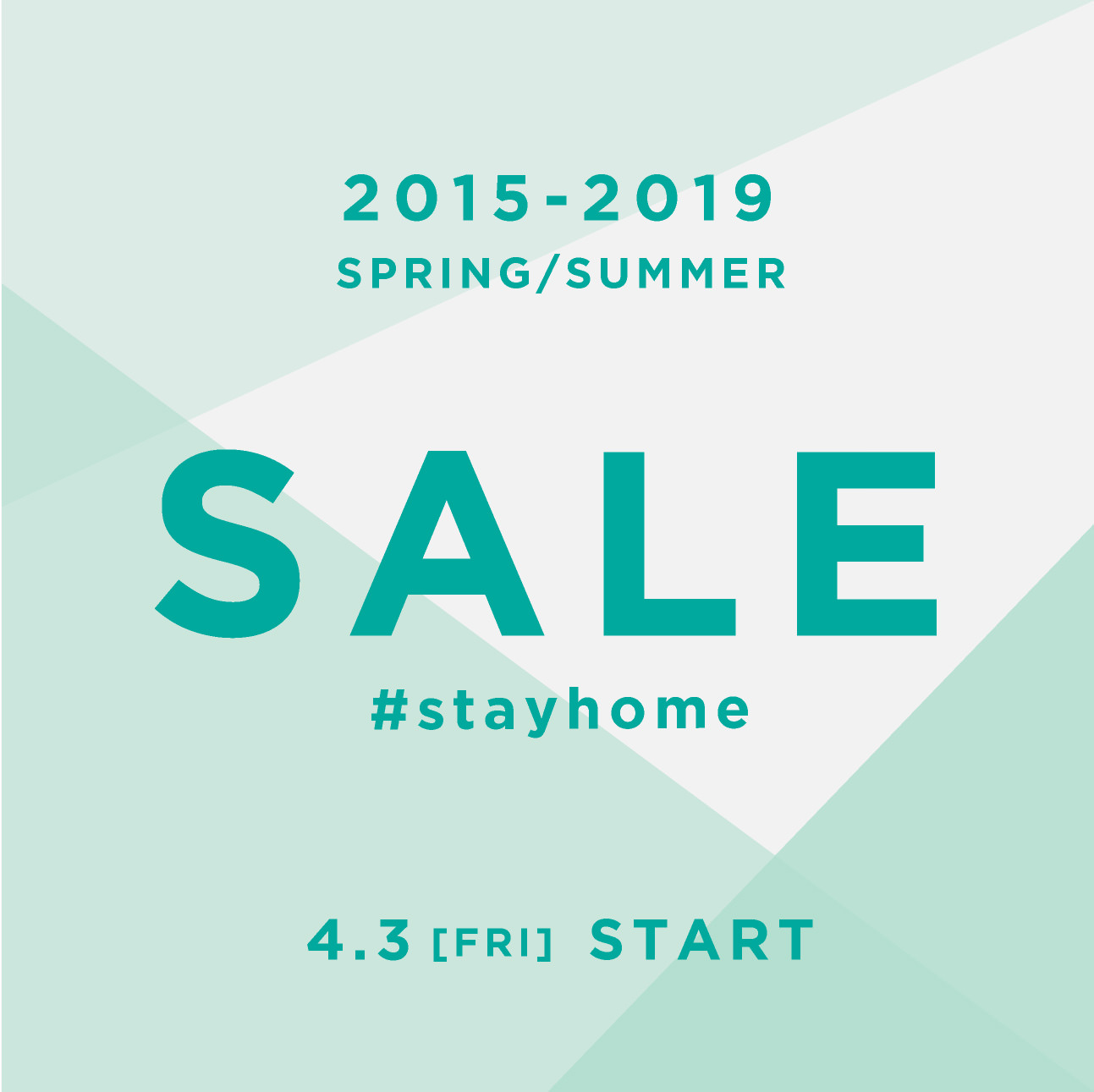 #STAYHOME SALE