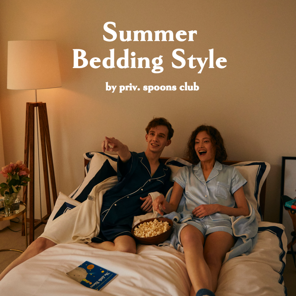SUMMER BEDDING STYLE by priv. spoons club