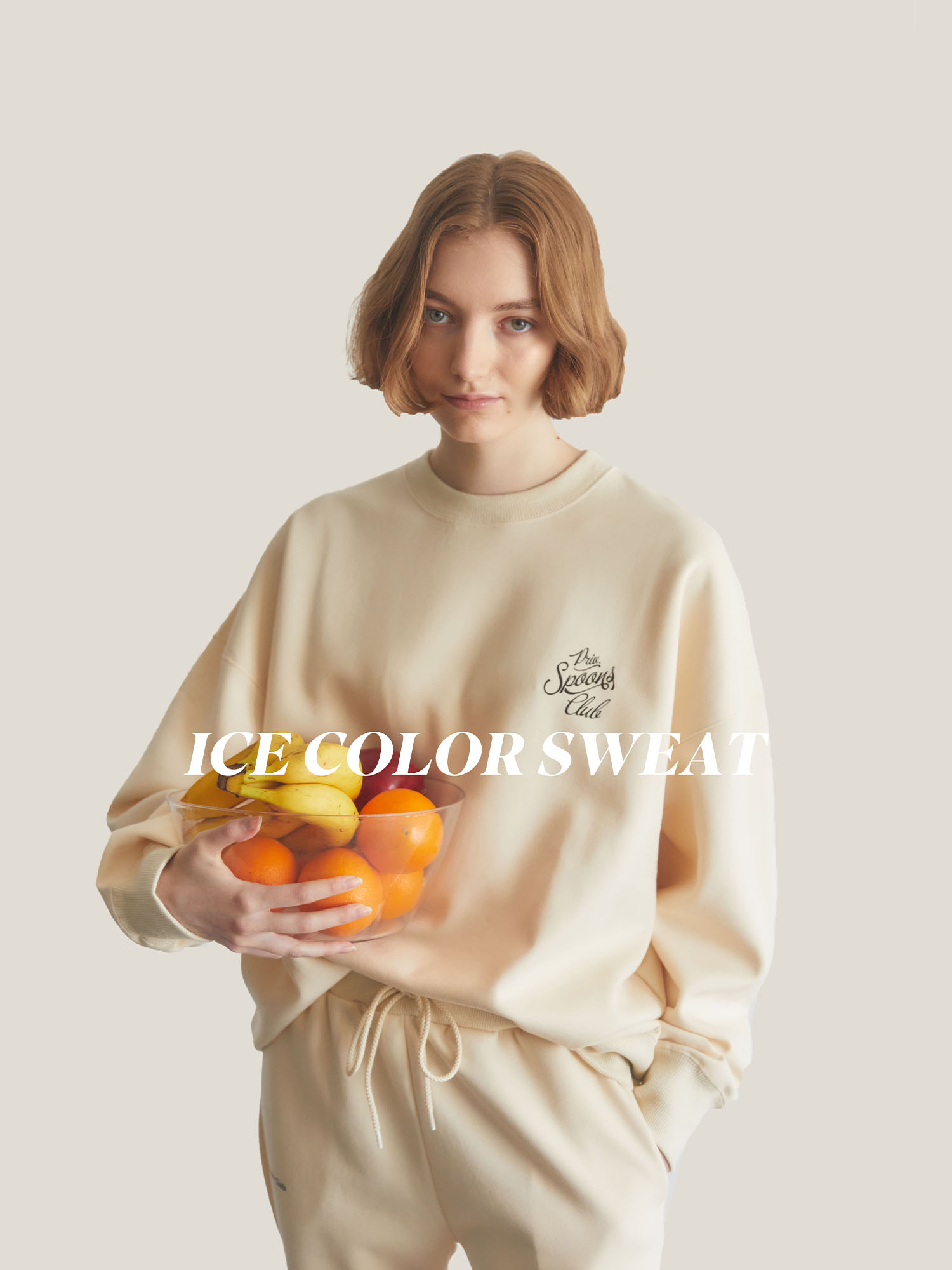 ICE COLOR スウェット